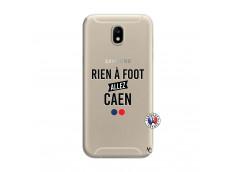 Coque Samsung Galaxy J7 2017 Rien A Foot Allez Caen