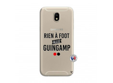 Coque Samsung Galaxy J7 2017 Rien A Foot Allez Guingamp