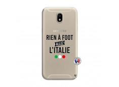 Coque Samsung Galaxy J7 2017 Rien A Foot Allez L'Italie