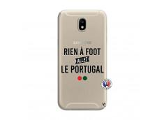 Coque Samsung Galaxy J7 2017 Rien A Foot Allez Le Portugal