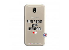 Coque Samsung Galaxy J7 2017 Rien A Foot Allez Liverpool