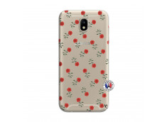 Coque Samsung Galaxy J7 2017 Rose Pattern