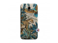 Coque Samsung Galaxy J7 2017 Leopard Jungle