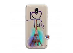 Coque Samsung Galaxy J7 I Love Paris