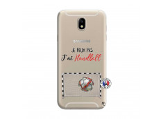 Coque Samsung Galaxy J7 Je peux pas j'ai Handball