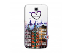 Coque Samsung Galaxy Mega 6.3 I Love Amsterdam
