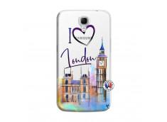 Coque Samsung Galaxy Mega 6.3 I Love London
