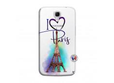 Coque Samsung Galaxy Mega 6.3 I Love Paris