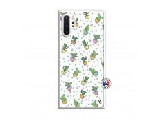 Coque Samsung Galaxy Note 10 Plus Le Monde Entier est un Cactus Translu