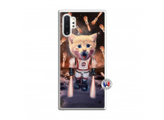 Coque Samsung Galaxy Note 10 Plus Cat Nasa Translu