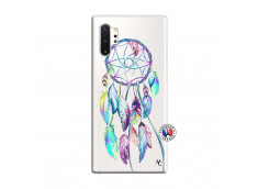 Coque Samsung Galaxy Note 10 Plus Blue Painted Dreamcatcher