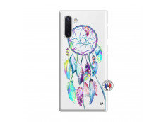 Coque Samsung Galaxy Note 10 Blue Painted Dreamcatcher