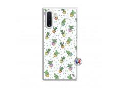 Coque Samsung Galaxy Note 10 Le Monde Entier est un Cactus Translu
