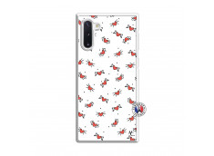 Coque Samsung Galaxy Note 10 Cartoon Heart Translu
