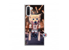 Coque Samsung Galaxy Note 10 Cat Nasa Translu