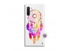 Coque Samsung Galaxy Note 10 Dreamcatcher Rainbow Feathers