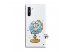Coque Samsung Galaxy Note 10 Globe Trotter