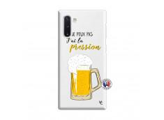 Coque Samsung Galaxy Note 10 Je peux pas J'ai la Pression