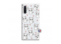 Coque Samsung Galaxy Note 10 Petits Chats