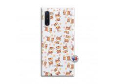 Coque Samsung Galaxy Note 10 Petits Renards