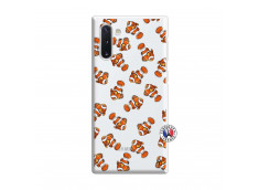 Coque Samsung Galaxy Note 10 Petits Poissons Clown
