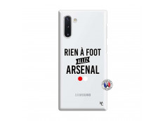 Coque Samsung Galaxy Note 10 Rien A Foot Allez Arsenal