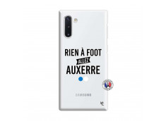 Coque Samsung Galaxy Note 10 Rien A Foot Allez Auxerre