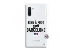 Coque Samsung Galaxy Note 10 Rien A Foot Allez Barcelone