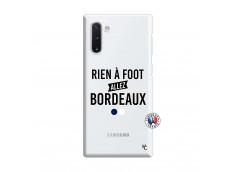 Coque Samsung Galaxy Note 10 Rien A Foot Allez Bordeaux
