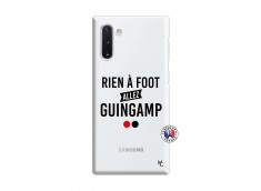 Coque Samsung Galaxy Note 10 Rien A Foot Allez Guingamp