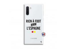 Coque Samsung Galaxy Note 10 Rien A Foot Allez L'Espagne