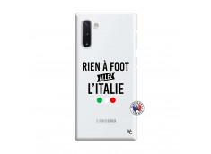 Coque Samsung Galaxy Note 10 Rien A Foot Allez L'Italie