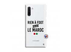Coque Samsung Galaxy Note 10 Rien A Foot Allez Le Maroc