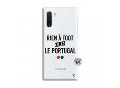 Coque Samsung Galaxy Note 10 Rien A Foot Allez Le Portugal