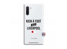 Coque Samsung Galaxy Note 10 Rien A Foot Allez Liverpool