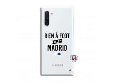Coque Samsung Galaxy Note 10 Rien A Foot Allez Madrid