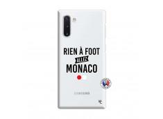 Coque Samsung Galaxy Note 10 Rien A Foot Allez Monaco