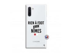 Coque Samsung Galaxy Note 10 Rien A Foot Allez Nimes