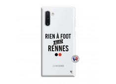 Coque Samsung Galaxy Note 10 Rien A Foot Allez Rennes