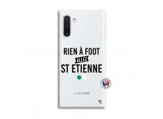 Coque Samsung Galaxy Note 10 Rien A Foot Allez St Etienne