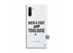 Coque Samsung Galaxy Note 10 Rien A Foot Allez Toulouse