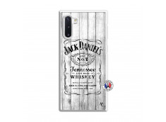 Coque Samsung Galaxy Note 10 White Old Jack Translu