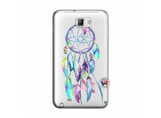Coque Samsung Galaxy Note 1 Blue Painted Dreamcatcher