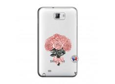 Coque Samsung Galaxy Note 1 Bouquet de Roses