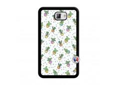 Coque Samsung Galaxy Note 1 Le Monde Entier est un Cactus Noir