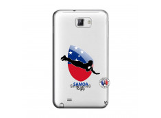 Coque Samsung Galaxy Note 1 Coupe du Monde Rugby-Samoa