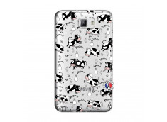 Coque Samsung Galaxy Note 1 Cow Pattern
