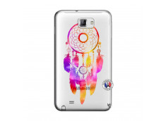 Coque Samsung Galaxy Note 1 Dreamcatcher Rainbow Feathers