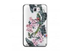 Coque Samsung Galaxy Note 1 Flower Birds