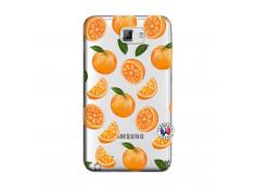Coque Samsung Galaxy Note 1 Orange Gina